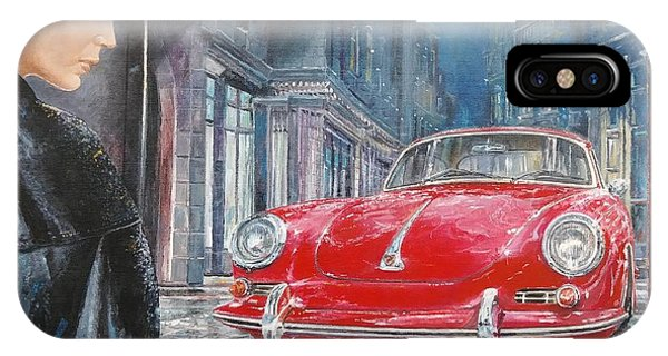 1964 Porsche 356 Coupe IPhone Case