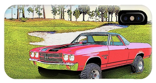 1970 Chevy El Camino 4x4 Not 2nd Generation 1964-1967 IPhone Case