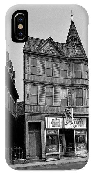 Roxbury iPhone Case - 1965 Jack's Celtic Tavern Boston by Historic Image