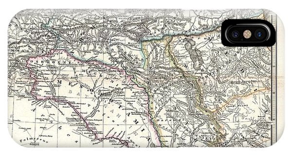 iPhone Case - 1965 Spruner Map Of The Caucasus And Iraq In Antiquity  by Paul Fearn
