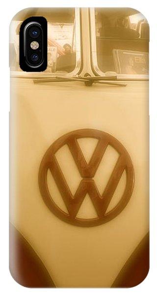 1965 Vw Camper Van Type II Split Screen IPhone Case