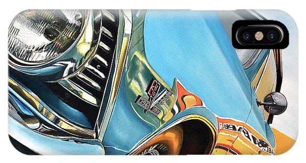1966 Chevelle Phone Case by Branden Hochstetler
