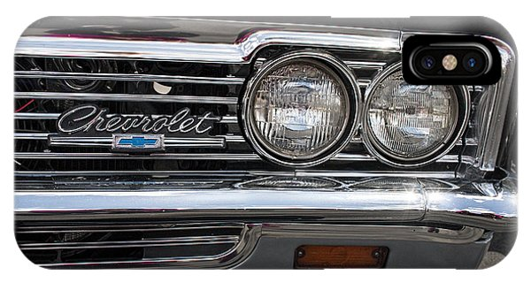 1966 Chevy Impala Chrome IPhone Case