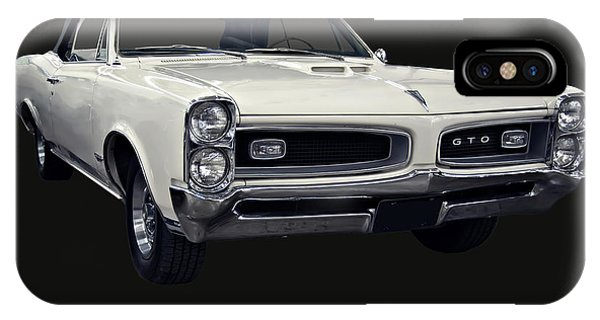 1966 Pontiac Gto Convertible IPhone Case