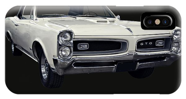 1966 Pontiac Gto Convertible IPhone Case