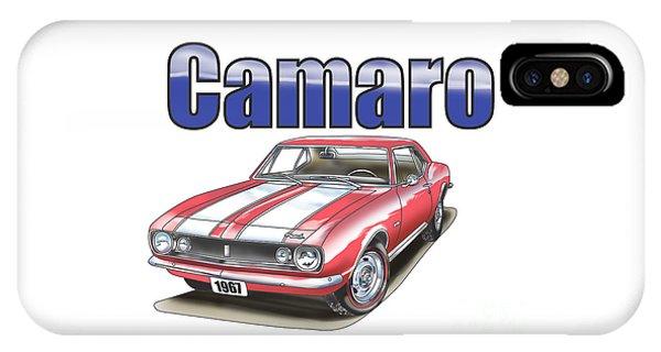 1967 Camaro IPhone Case