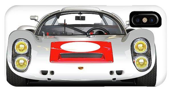 1967 Porsche 910 Illustration IPhone Case