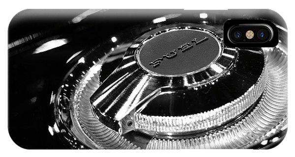 1968 Dodge Charger Fuel Cap IPhone Case