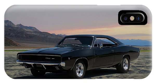 1968 Dodge Charger Rt 440 IPhone Case