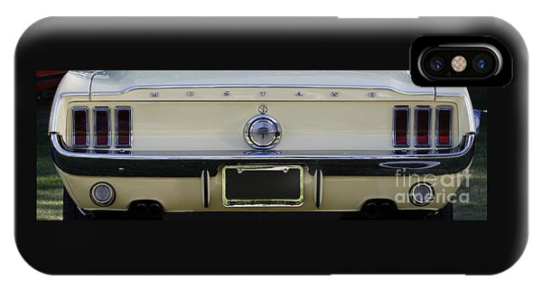 1968 Mustang Gt Fastback IPhone Case