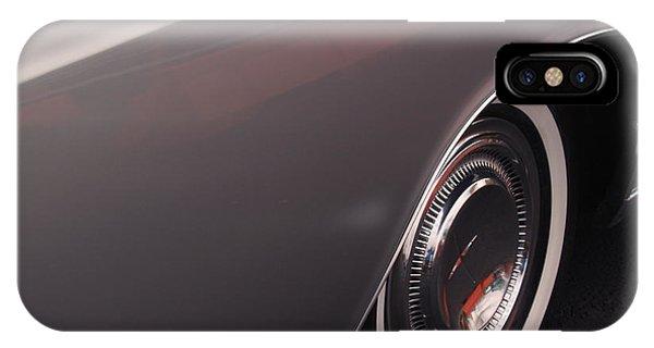 1968 Vintage Lincoln Sedan Fender IPhone Case