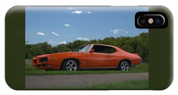 1969 Pontiac Gto Judge IPhone Case