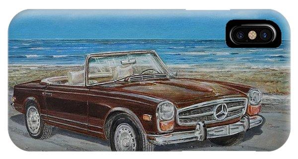 1970 Mercedes Benz 280 Sl Pagoda IPhone Case