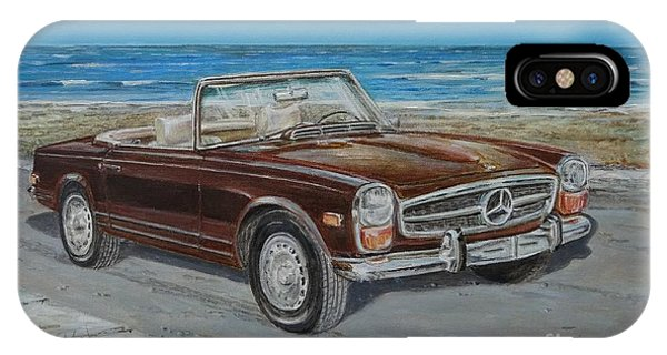 1970 Mercedes Benz 280 Sl Pagoda IPhone Case