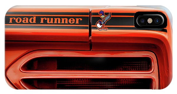 1970 Plymouth Road Runner - Vitamin C Orange IPhone Case