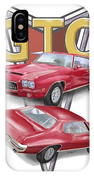 1971 Pontiac Gto IPhone Case