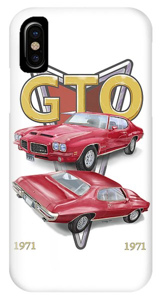 1971 Pontiac Gto IPhone Case
