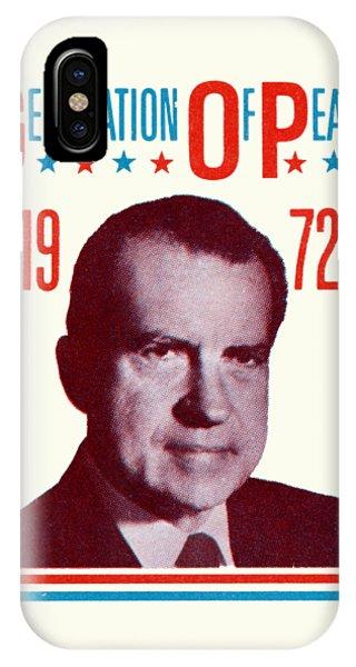 1972 Nixon Presidential Campaign IPhone Case