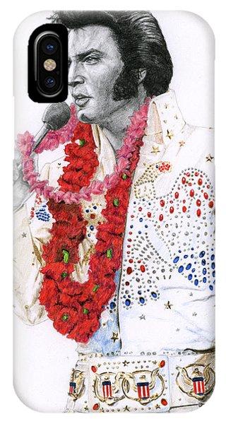 1973 Aloha Bald Headed Eagle Suit IPhone Case