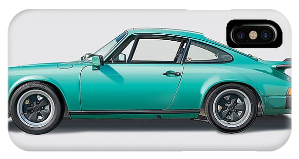 1976 Porsche Euro Carrera 2.7 Illustration IPhone Case