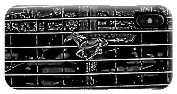 1977 Mustang Grill IPhone Case