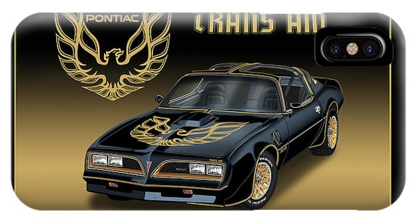 1977 Pontiac Trans Am Bandit IPhone Case