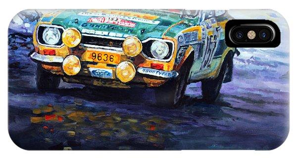 1977 Rallye Monte Carlo Ford Escort Rs 2000 #152 Beauchef Dubois Keller IPhone Case