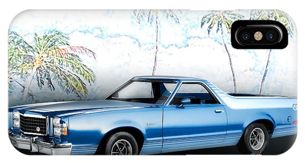 1979 Ranchero Gt 7th Generation 1977-1979 IPhone Case