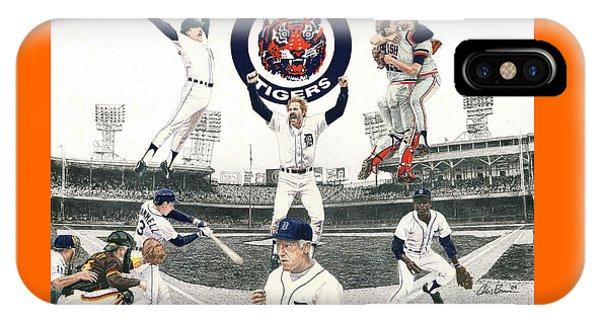 1984 Detroit Tigers IPhone Case