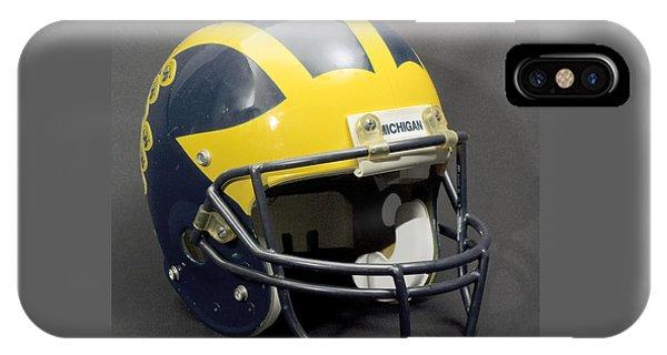 1990s Wolverine Helmet IPhone Case