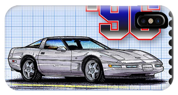 1996 Collector Edition Corvette IPhone Case