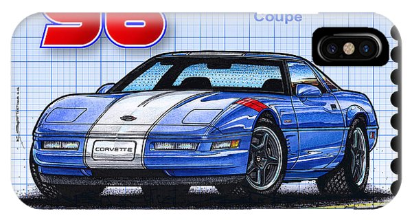 1996 Grand Sport Corvette IPhone Case