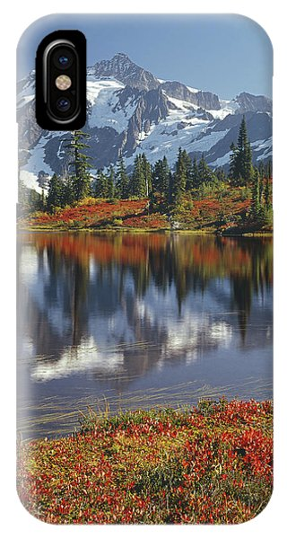 1m4208 Mt. Shuksan And Picture Lake IPhone Case