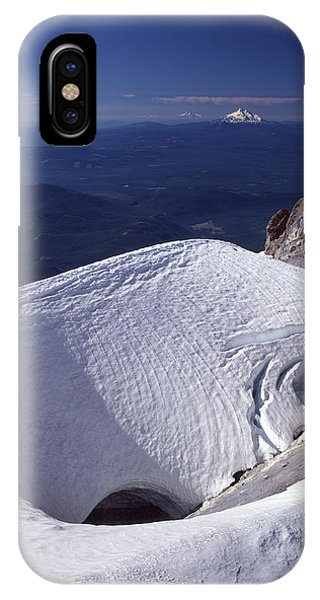 IPhone Case featuring the photograph 1m5140 Crater On Mt. Hood Or by Ed Cooper Photography