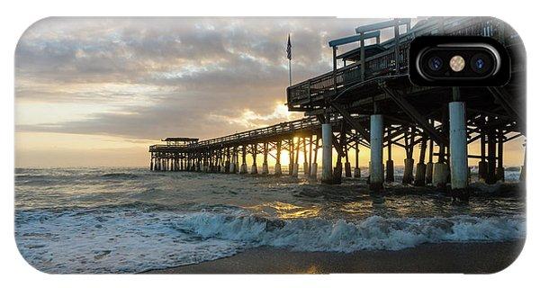1st Sunrise 2017 Cocoa Beach IPhone Case