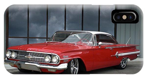 1960 Chevrolet Impala IPhone Case
