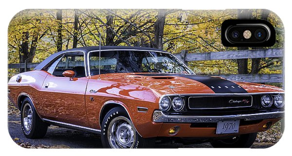 1970 Dodge Challenger Rt  IPhone Case
