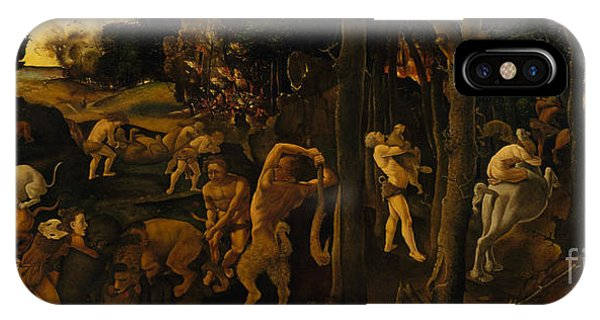 A Hunting Scene IPhone Case