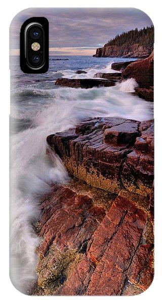 Along The Acadia Coast IPhone Case
