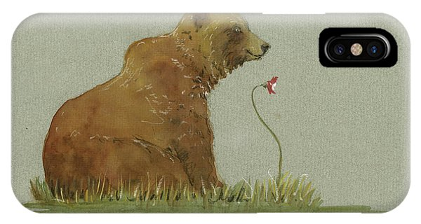 Alaskan Grizzly Bear IPhone Case