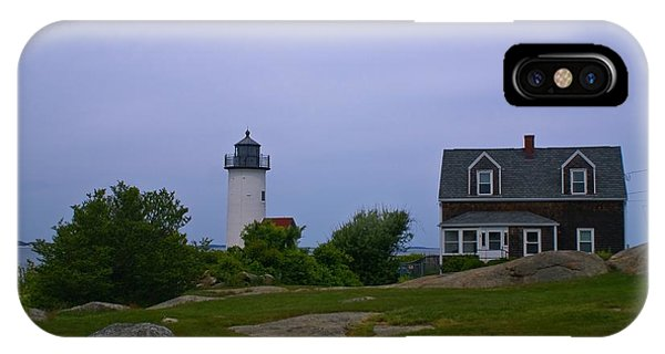 Annisquam Light. Gloucester, Ma. IPhone Case