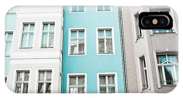 Apartment Buildings IPhone Case