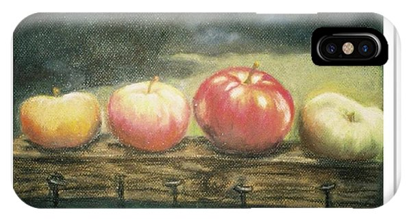 Apples On A Rail IPhone Case