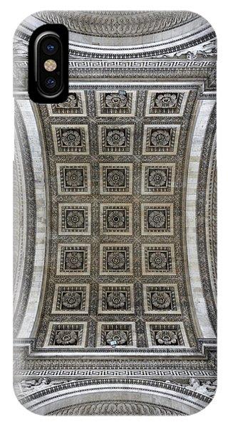 Arc De Triomphe Detail IPhone Case