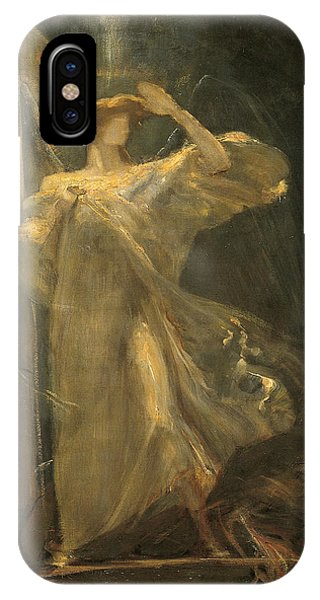 Archangel, Study For The Foundation Of The Faith IPhone Case
