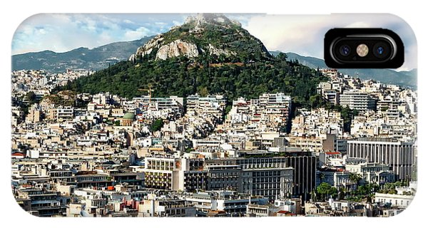 Athens Panorama IPhone Case