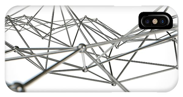 Atom Array Abstract IPhone Case