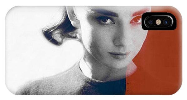 Fashion iPhone Case - Audrey Hepburn  by Paul Lovering