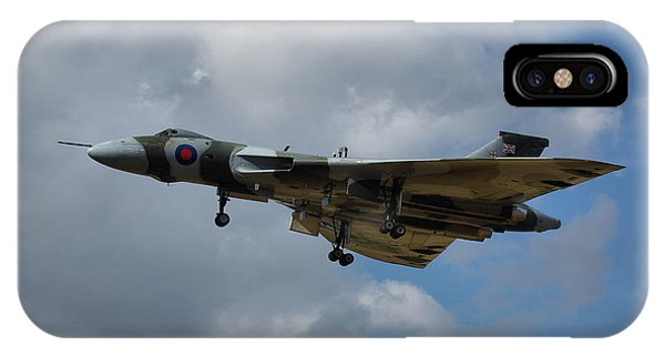 Avro Vulcan B2 Xh558 IPhone Case