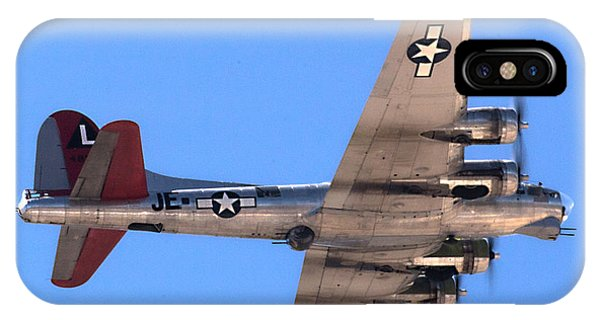 IPhone Case featuring the photograph B-17 Bomber by Dart Humeston